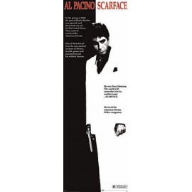Poster Porta Scarface (One-Sheet)