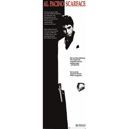Poster Porte Scarface (One-Sheet)