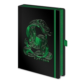 CUADERNO A5 PREMIUM HARRY POTTER SLITHERIN