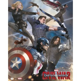 Mini Poster Captain America Civil War