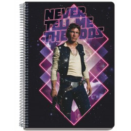 Cahier Couverture Rigide A5 Star Wars