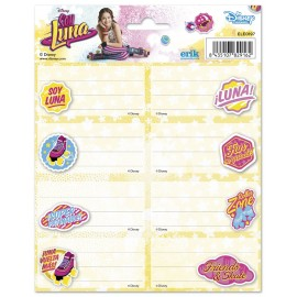 School Label Disney Soy Luna