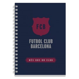 Notebook Cover Lined Premium A5 F.C. Barcelona