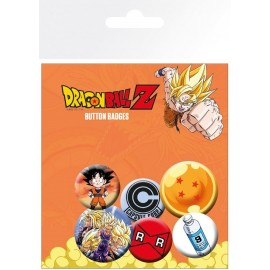 PACK CHAPAS DRAGON BALL Z MIX