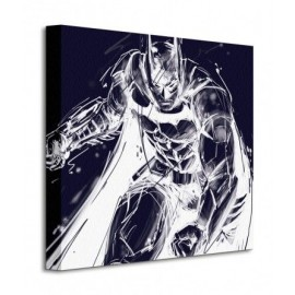 Canvas 40X40 Cm Batman Arkham Knight Iii
