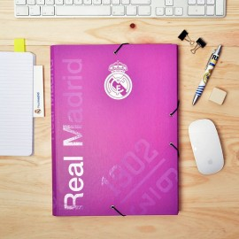 Elasto Folder C. Premium Real Madrid Rosa