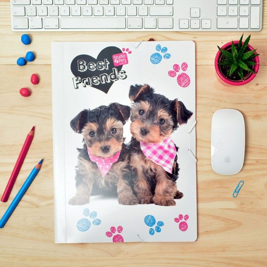 Carpeta Gomas Polipropileno Studio Pets Dog