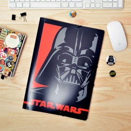 Carpeta Gomas Polipropileno Star Wars Darth Vader