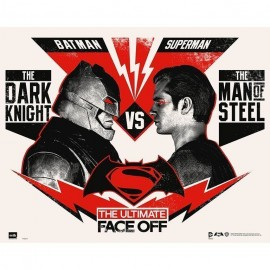 Mini Poster Batman Vs Superman Ultimate Face Off