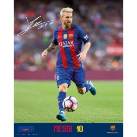 Mini Poster Fc Barcelona 2016/2017 Messi