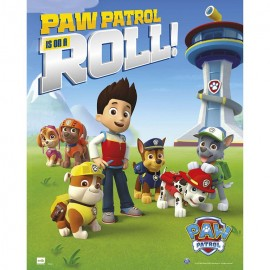 MINI POSTER PAW PATROL ROLL