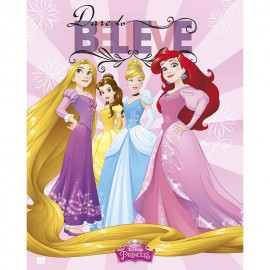 Mini Poster Disney Princesas Dare To Believe