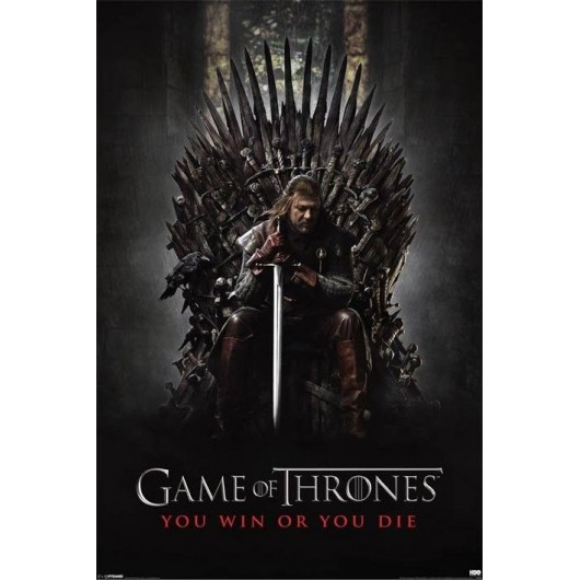Maxi Poster Juego De Tronos - You Win Or You Die