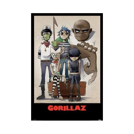 Maxi Poster Gorillaz (All Here)