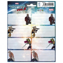 ETIQUETAS GR MARVEL GUARDIANS OF THE GALAXY