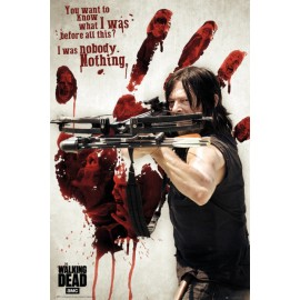 Poster The Walking Dead Bloody Hand Daryl