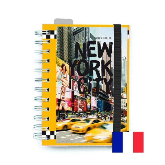 Agenda Escolar 2017/2018 Fr New York