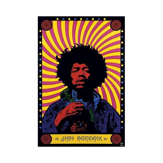 Maxi Poster Jimi Hendrix (Psychedelic)