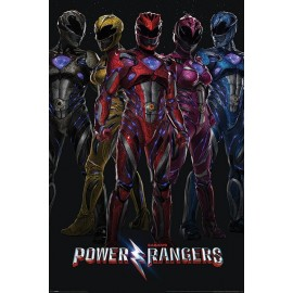 Poster Power Rangers Movie (Group)