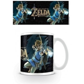 Taza The Legend Of Zelda: Breath Of The Wild (Game Cover)