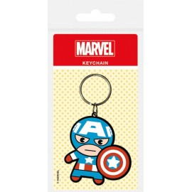 Llavero Marvel Kawaii Captain America
