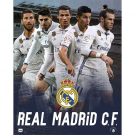 Mini Poster Real Madrid 2016/2017 Grupo Accion Mundialito