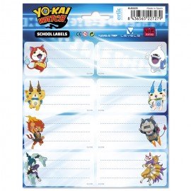ETIQUETAS GR YO-KAI WATCH