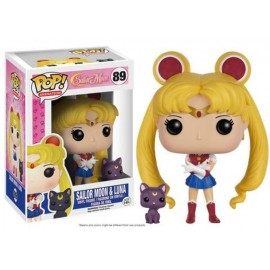 Sailor Moon With Luna Pop