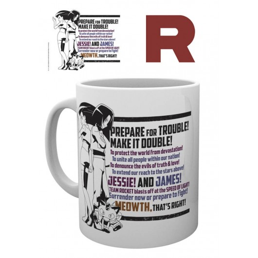 Taza Mug Pokemon Team Rocket