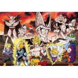 Poster Dragon Ball Z Droupe Arc Cell