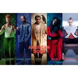 Poster American Gods Collage