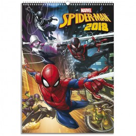 Calendarios A3 2018 Spider-Man