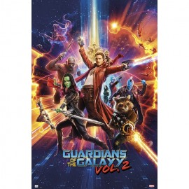 Poster Guardians Of The Galaxy Vol 2 One Sheet