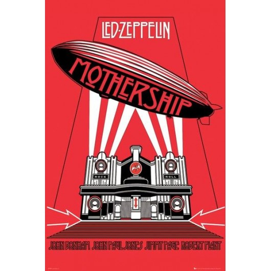 Maxi Poster Led Zeppelin Mothership