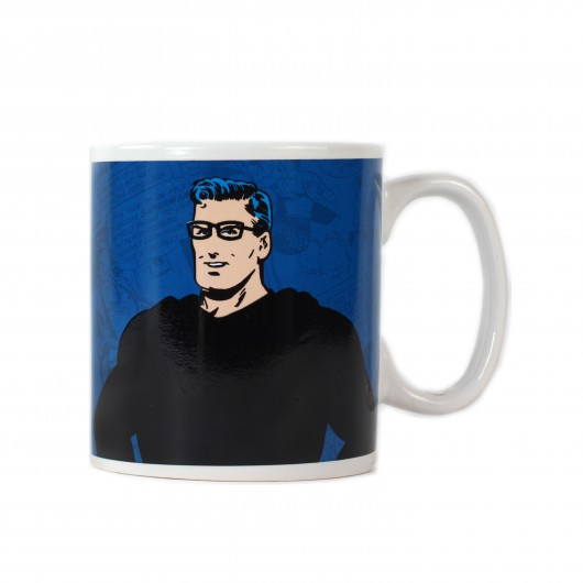 Mug Heat Changing (425Ml) - Superman (Clark Kent)