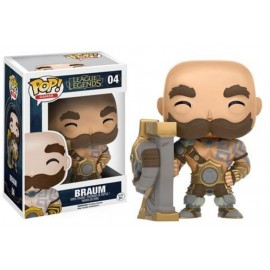 Ts367 Pop Vinyl League Of Legends Braum Exc