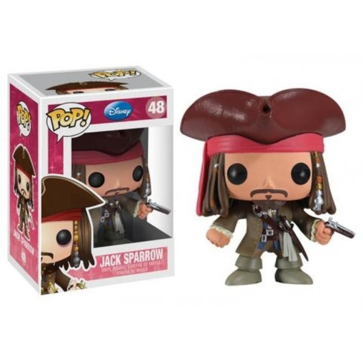 Ts340 Pop Vinyl Jack Sparrow