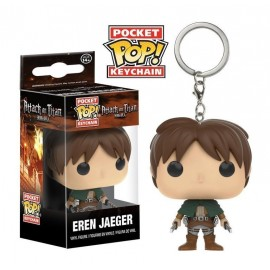 Pop Vinyl Keychain Attack On Titan - Eren Jaeger