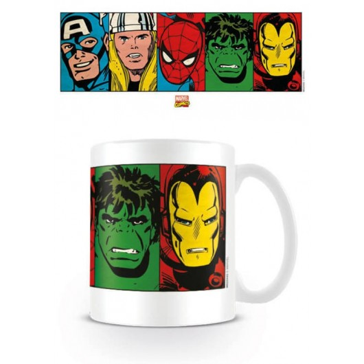 Taza Mug Marvel Comics
