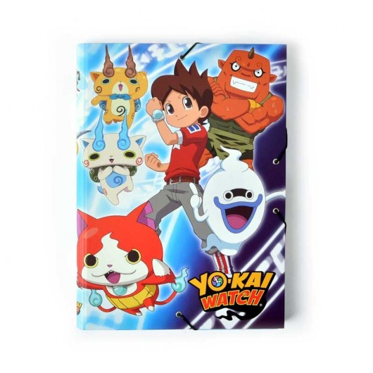 Carpeta Solapas Yo-Kai Watch