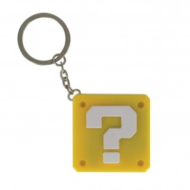 Keyring Light Up Super Mario Question Block
