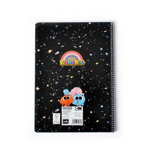 Cahier Couverture Rigide A4 Gumball