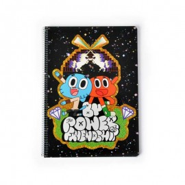 Notebook Hard Cover A4 Gumball