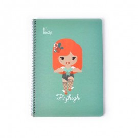 Notebook Hard Cover A4 Lil´Ledy