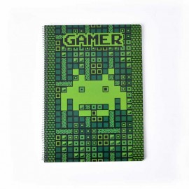 Notebook Hard Cover A4 Gamer
