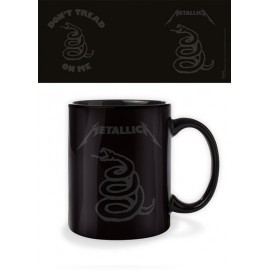 Taza Mug Metallica Dont Tread On Me Black
