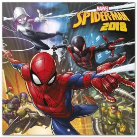 Calendario 2018 30X30 Spider-Man Homecoming
