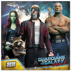 Calendario 2018 30X30 Marvel Guardians Of The Galaxy
