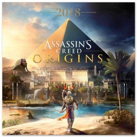 Calendario 2018 30X30 Assassins Creed