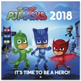 Calendario 2018 30X30 Pj Masks
